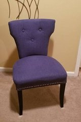 Blue Nailhead Accent Chair in Clarksville, Tennessee