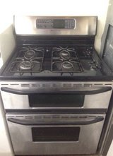 Maytag Gas Stove Stainless Steel Black in Oceanside, California