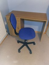 Desk with chair in Lakenheath, UK