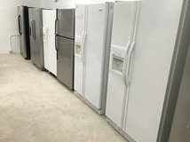 Side by Side Double Door Fridge Refrigerator Units in Oceanside, California
