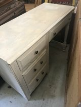 Small distressed desk in Beaufort, South Carolina