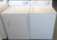 GE Washer and Dryer in Oceanside, California