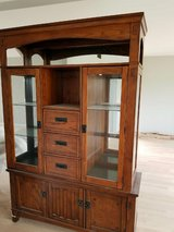Ashley Furniture - Hutch, Table, and 6 Chairs in Chicago, Illinois