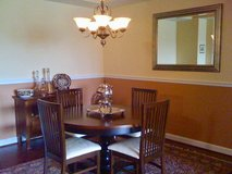Arhaus dining table and 6 chairs in Quantico, Virginia