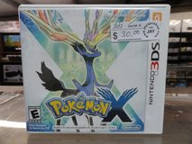 Pokemon X for Nintendo 3ds in Camp Lejeune, North Carolina