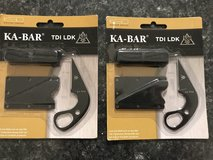 2 Brand new KA-BAR TDI LDK (Last Ditch Knife) in Fort Polk, Louisiana