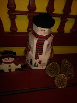 Snowman decor/Christmas in Kingwood, Texas