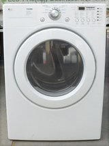 FRONT LOAD LG TROMM GAS DRYER WITH WARRANTY in Camp Pendleton, California
