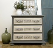 Adorable Shabby Chic Dresser Chest Of Drawers Beautiful Antique Piece! in Ramstein, Germany