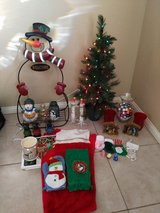 Christmas Lot in Yucca Valley, California