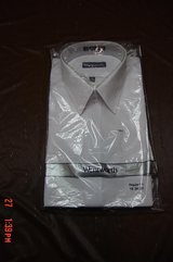 Mens White Wentworth Dress Shirt Still in Store wrap in Naperville, Illinois