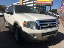 2010 Ford Expedition ((Eddie Bauer)). Pearl White Nice!!! in Bellaire, Texas