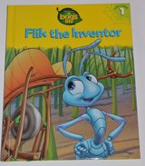 New RARE Vintage 1998 Disney A Bugs Life Flik The Inventor Hard Cover Book Age 6 - 11 Grade 1st ... in Shorewood, Illinois