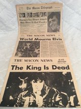 Macon Papers: Elvis' Passing in Warner Robins, Georgia