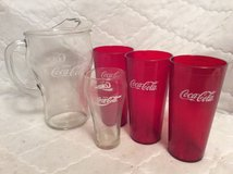 Coca-Cola Pitcher & Glasses in Perry, Georgia