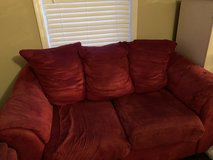 Couch and Loveseat in Cherry Point, North Carolina
