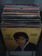 Record/LPs: Elvis Presley (52) in Byron, Georgia