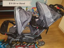 Baby trend sit n stand double stroller in Baumholder, GE