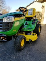 2015 John deer D130. 114 hours of use . 22HP Briggs and Stratton. Mint condition in Westmont, Illinois