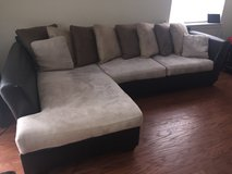 Ashley Sofa & Chaise Sectional in Eglin AFB, Florida