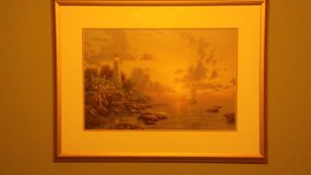Limited Edition Thomas Kinkade Painting in Baytown, Texas