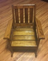 Toddler Wooden Rocking Chair in League City, Texas