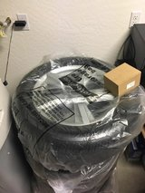 Ford Mustang Aluminum Alloy Wheels and Tires (4) in Fort Bliss, Texas