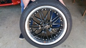 Proxes tires w/Ruff rims 225/45R18 in Fort Campbell, Kentucky