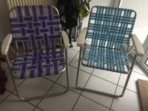 Folding Lawn Chairs in Ramstein, Germany