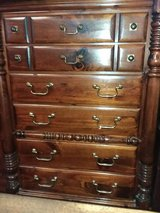 Early American Column Style 6 Drawer Dresser in Wilmington, North Carolina