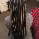 Adults age 11+ Box braids $75 to shoulder $100 mid back or longer $150 waist or longer in Hinesville, Georgia