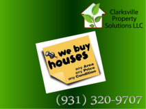 We are multi-service company who has the ability to BUY, REPAIR, RENT, and SELL HOMES in the Cla... in Fort Campbell, Kentucky