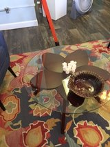 Hand Made Glass Top Table in Camp Lejeune, North Carolina