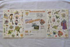 TOY STORY 2 Glow In The Dark Sticker Set in 29 Palms, California