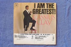 "1963 Cassius Clay ""Promotional"" LP Record *RARE* in 29 Palms, California"