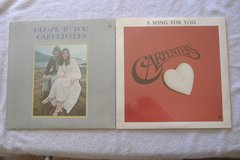 2 - Sealed **CARPENTERS** LP Record Albums in 29 Palms, California