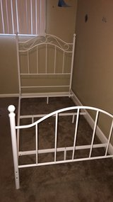 metal twin bedframe in Fort Leavenworth, Kansas