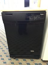 Whirlpool Black Portable Dishwasher - USED in Tacoma, Washington