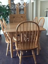 Amish Made Solid wood Dining Set in Columbus, Ohio