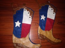 Texas boot stockings in Houston, Texas