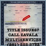 LINCENSED VEHICLE TITLE SERVICE in Spring, Texas
