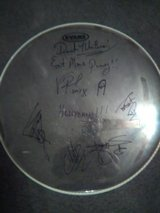 autographed hell yeah drumhead in Kissimmee, Florida