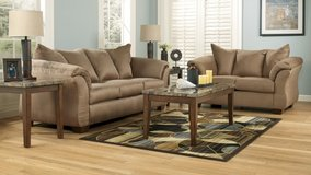 ASHLEY DARCY MOCH SOFA LOVESEAT in Schofield Barracks, Hawaii