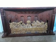 Last Supper Carving in Naperville, Illinois