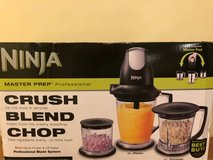 Ninja Master Prep Professional Crush, Blend & Chop - never opened in Naperville, Illinois