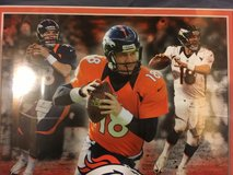 nfl denver broncos peyton manning #18 39mm minted medallion / framed photograph  02035 in Huntington Beach, California