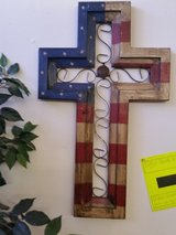 American Flag Cross in Fort Leonard Wood, Missouri