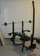 Weight Bench plus 120 lb Weight Set in Chicago, Illinois