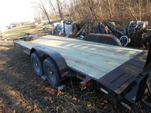 "20' bumper pull trailer w/fold down ramps 102"" wide in Fort Leonard Wood, Missouri"