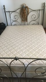 Queen size frame, mattress, box spring in Fort Meade, Maryland